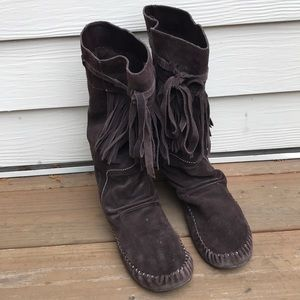 Women's brown boots size 9
